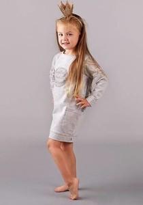 Sukienka dziewczęca CudiKiDS z dzianiny