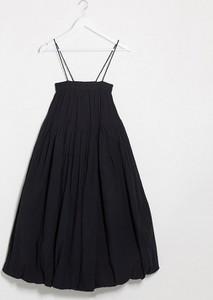 Czarna sukienka Asos na ramiączkach mini