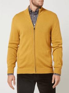 Sweter Christian Berg Men ze stójką w stylu casual