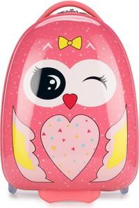 Dziecięca walizka WITTCHEN 56-3K-006 sowa
