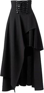 Czarna spódnica Sandbella mini