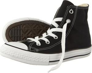 Czarne trampki dziecięce Converse