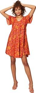 Sukienka Aller Simplement mini z dekoltem w kształcie litery v