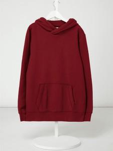 Czerwona bluza dziecięca Review For Teens z bawełny