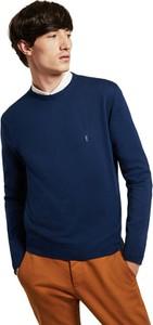 Niebieski sweter Polo Club z bawełny