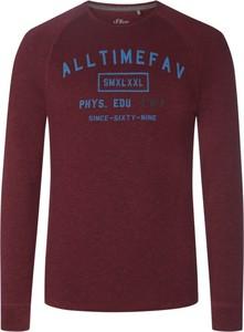 Fioletowa bluza S.Oliver z bawełny
