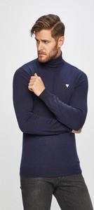 Niebieski sweter Guess Jeans
