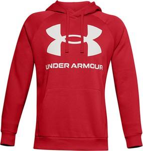 Czerwony sweter Under Armour z bawełny