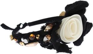 Dolce & Gabbana Diadem pałąk Tiara włosów Złoty Kryształ