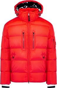 Czerwona kurtka Bogner w stylu casual