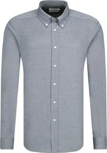 Koszula Calvin Klein z kołnierzykiem button down z długim rękawem
