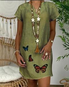 Sukienka Kendallme mini z bawełny