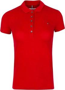 Bluzka Tommy Hilfiger z dekoltem w kształcie litery v w stylu casual