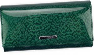 Zielony portfel Pellucci