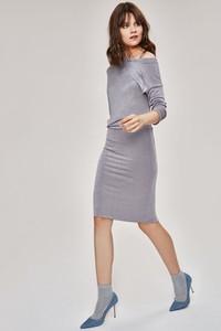 Sukienka FEMESTAGE Eva Minge w stylu casual z długim rękawem midi