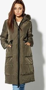 Zielona kurtka Confront w stylu casual