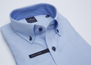 Koszula Lanieri z kołnierzykiem button down z tkaniny