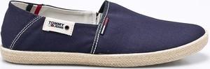 Granatowe buty letnie męskie Tommy Jeans