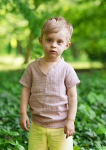 Koszulka dziecięca Little Gold King z krótkim rękawem
