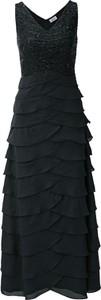 Czarna sukienka Heine midi bez rękawów