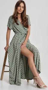 Zielona sukienka Renee w stylu casual maxi