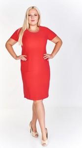f316c8239e czerwona sukienka gdzie kupić - stylowo i modnie z Allani