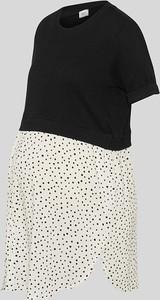 YESSICA C&A T-shirt ciążowy-2w1, Czarny, Rozmiar: XS