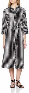 Sukienka amazon.de midi koszulowa z długim rękawem