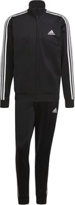 Czarny dres Adidas z dresówki