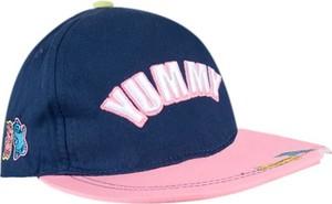Granatowa czapka yoclub z bawełny