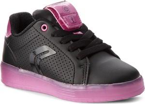Czarne buty sportowe dziecięce Geox
