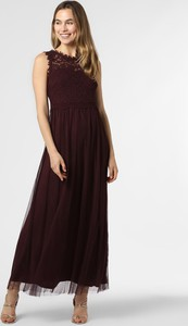 Czerwona sukienka Vila bez rękawów z tiulu
