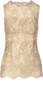Złoty top Dolce & Gabbana