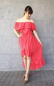 Czerwona sukienka Sklepfilloo hiszpanka