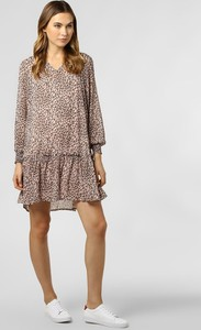 Sukienka Vero Moda z długim rękawem z dekoltem w kształcie litery v