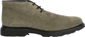 Zielone buty zimowe Hogan