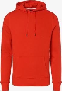 Pomarańczowa bluza Tommy Hilfiger w młodzieżowym stylu
