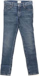 Granatowe spodnie dziecięce Gucci