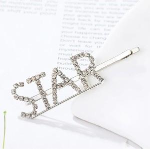 Kemer Wsuwka do włosów napis kryształ STAR SP86S