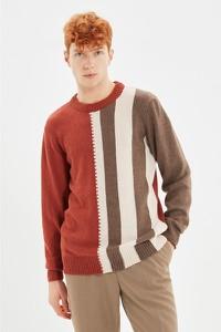 Sweter Trendyol z okrągłym dekoltem w stylu casual