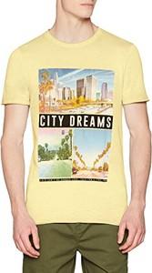 Żółty t-shirt amazon.de
