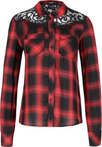 Koszula Guess Jeans z kołnierzykiem