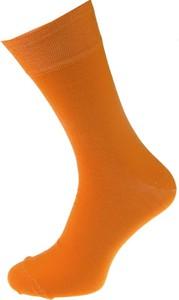 Pomarańczowe skarpety Em Men`s Accessories