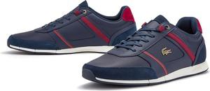 Buty sportowe Lacoste ze skóry sznurowane
