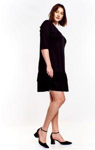 Sukienka Ptakmoda.com mini w stylu casual oversize