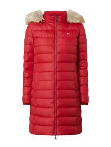 Czerwony płaszcz Tommy Jeans w stylu casual