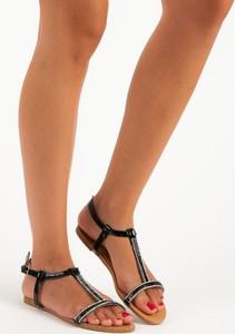 9174a88ff619a5 płaskie sandały do sukienki - stylowo i modnie z Allani