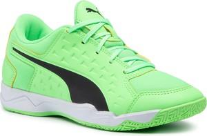 Zielone buty sportowe dziecięce eobuwie.pl sznurowane