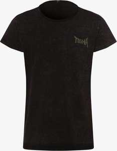 Czarny t-shirt Tigha