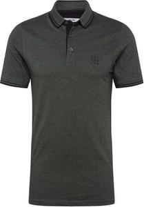 Zielona koszulka polo Only & Sons z bawełny z krótkim rękawem